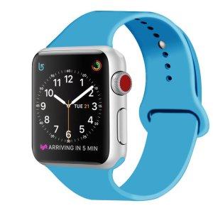 Correa de Silicona para Apple Watch Suave Reemplazo Sport