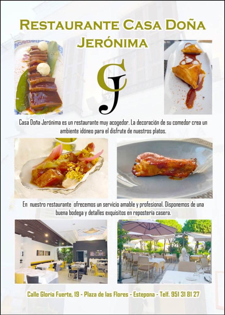 Restaurante CASA DOÑA JERÓNIMA