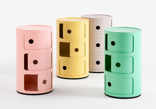 http www larevuedudesign com 2019 06 20 kartell cree une version bioplastique de son emblematique meuble de rangement componibili