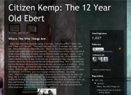LAMB #897 – Citizen Kemp: The 12 Year Old Ebert