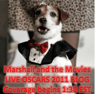 PLUG: Marshall and the Movies Live Oscar Blog!