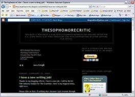 LAMB #245 – The Sophomore Critic