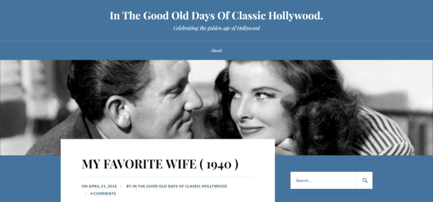 #1804 In The Good Old Days Of Classic Hollywood