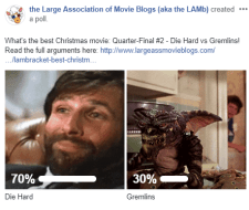 LAMBracket: Best Christmas Movie Quarter-Final 2 Results