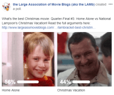 LAMBracket: Best Christmas Movie Quarter-Final 3 Results