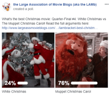 LAMBracket: Best Christmas Movie Quarter-Final 4 Results