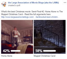 LAMBracket: Best Christmas Movie Semi-Final 2 Results