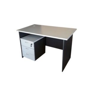 Grit Series -4ft Office Table with mobile drawer (Copy)