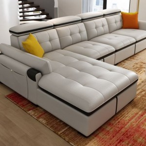 Godman Series 5 Seater L Shaped Sectional Sofa
