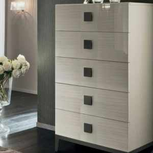 Kingston Series – Chest of Drawers (Premium High Gloss Finish)