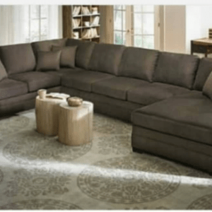 RROK Series 8 Seater Sectional Fabric Sofa