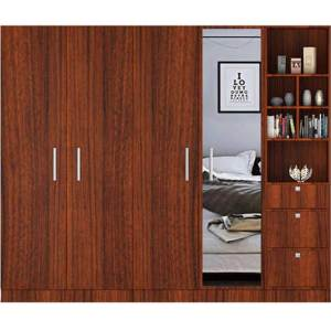 Wardrobe Series 003 – 5 Door 250cm by 62cm by H 220cm210cm
