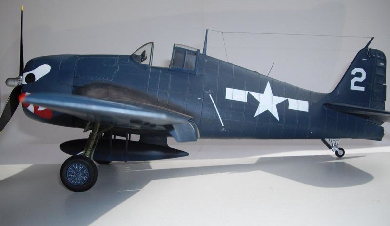 Hasegawa 132 F6F 5 Hellcat Large Scale Planes