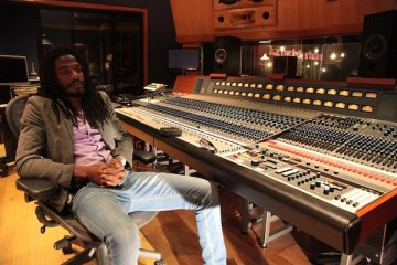 Gyptian at Electric Lady Studios