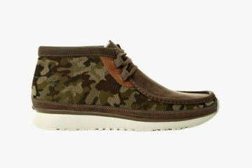 Camo Clarks Wallabees