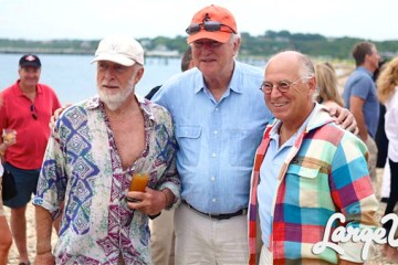 Chris Blackwell and Jimmy Buffett