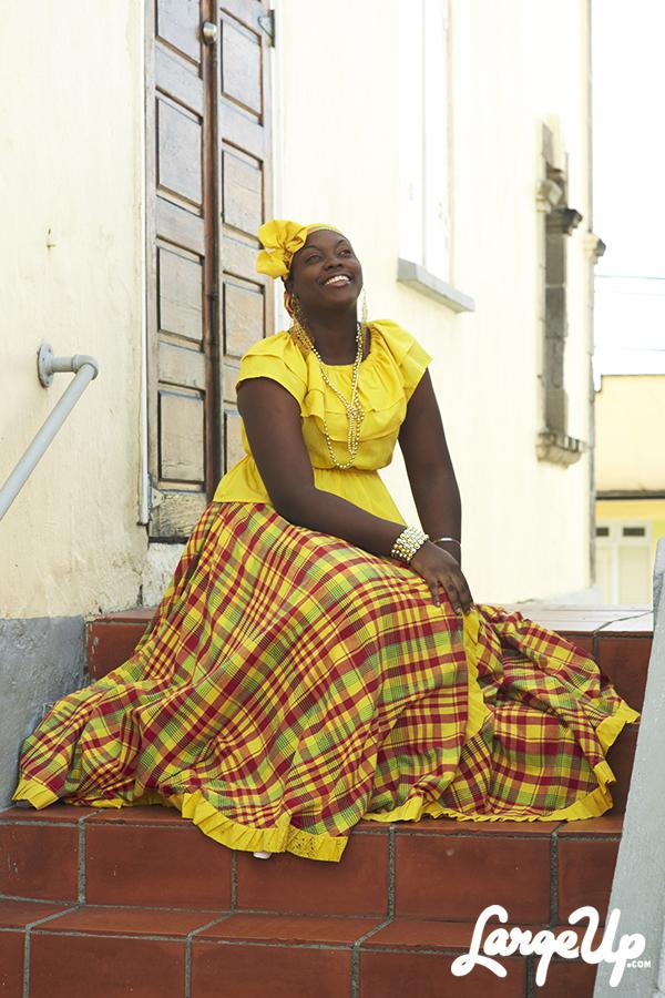 Wob Dwiyet, Ladies Creole Wear, Dominica