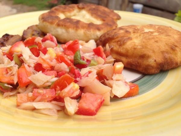 bake-and-saltfish