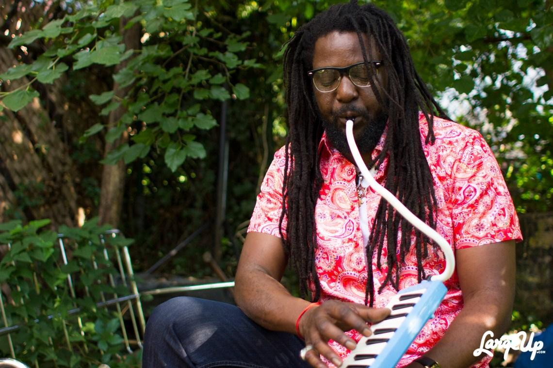 Reggae artist Yami Bolo in Brooklyn, NYC