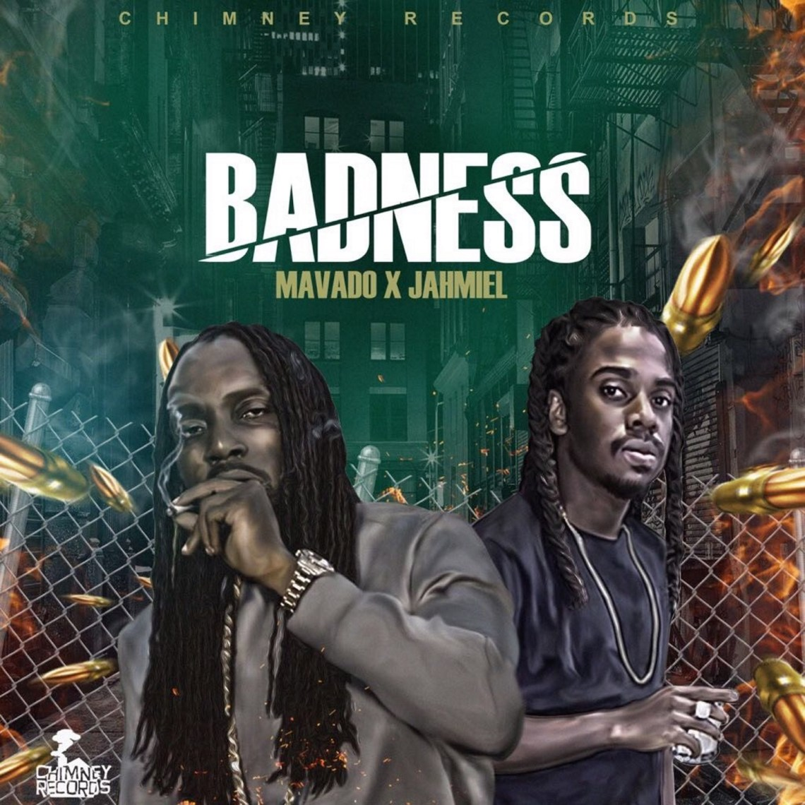 Badness is the first official collaboration from Mavado and Jahmiel