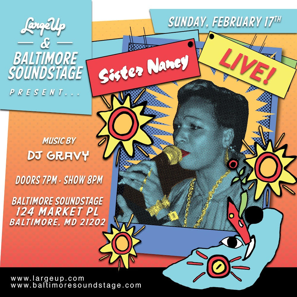Sister Nancy Live at Baltimore Soundstage
