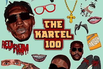 Vybz Kartel - The Kartel 100 playlist