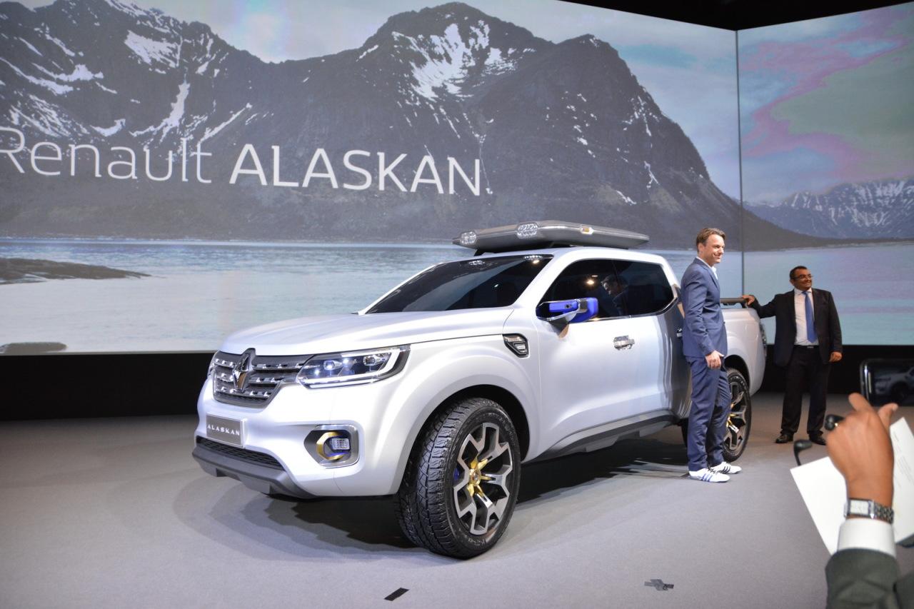 EN DIRECT Prsentation Live Du Renault Alaskan Le