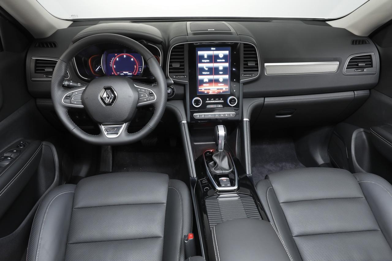 Renault Koleos 2017 Largusfr Bord Du Nouveau Koleos