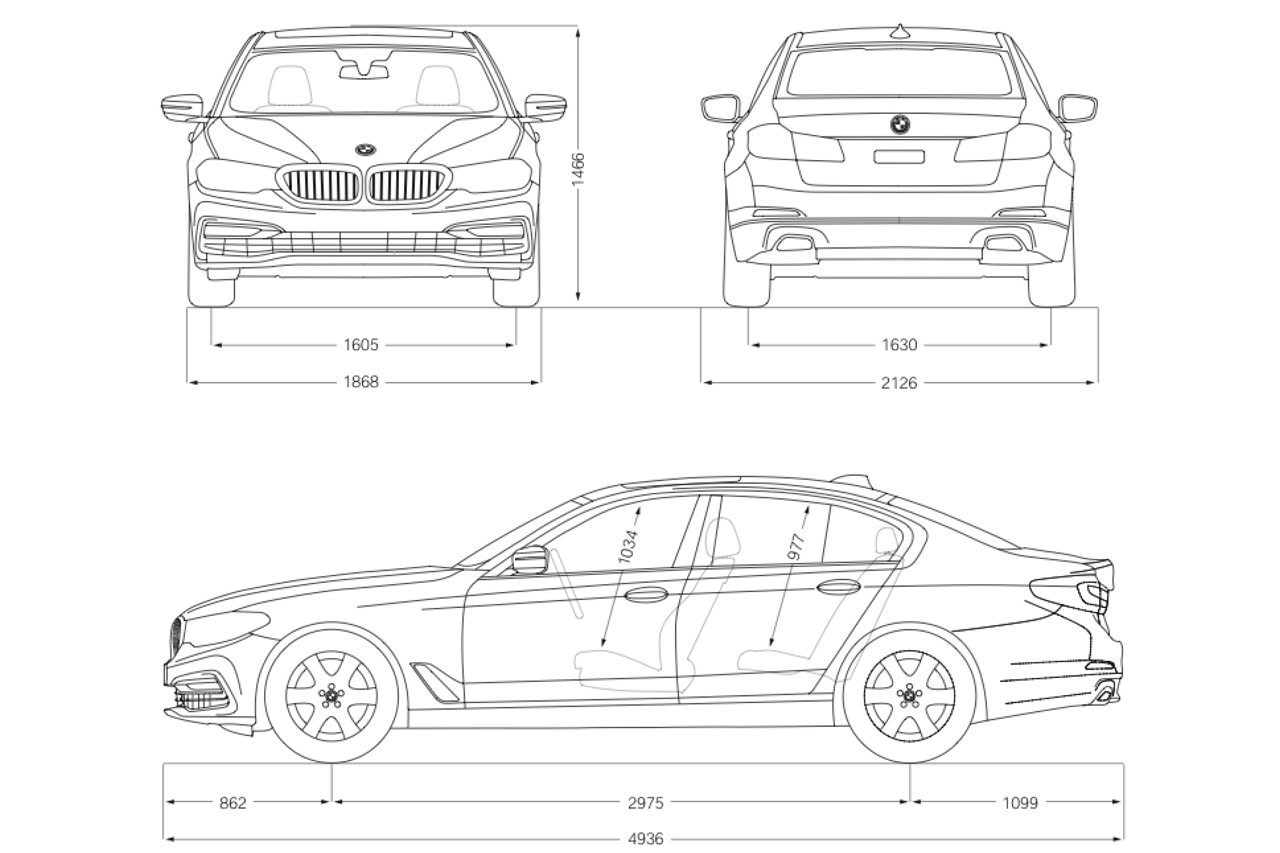 Bmw 3 Series Dimensions Size Wiring Diagram Database
