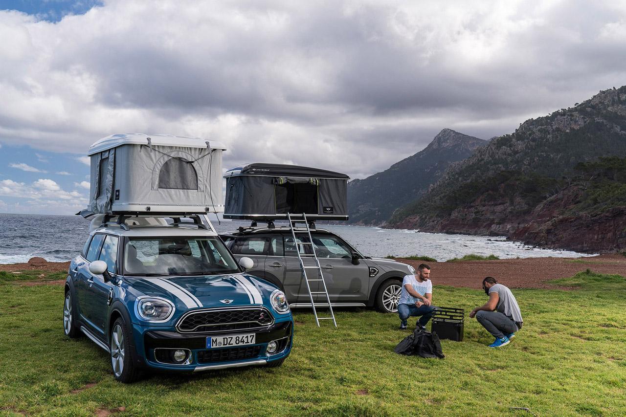 une tente de toit pour le mini countryman