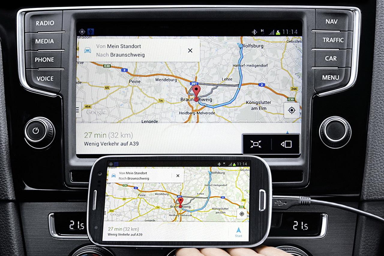Lancé dans certains modèles courant 2014, le MirrorLink a pour principe d'interfacer simplement son smartphone avec le système multimédia.