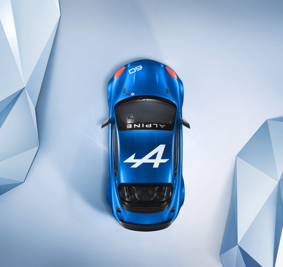 nouvelle alpine celebration a110 berlinette bleu 201518 | Alpine Celebration: Les Images Officielles
