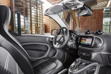 planche de bord Smart Fortwo Cabrio 2015