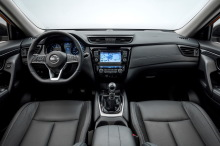 Nissan X-Trail 2018 Tekna dashboard