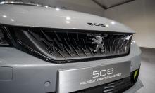 peugeot 508 hybrid R 350 hp