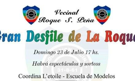 Desfile de la Vecinal Roque Sáenz Peña