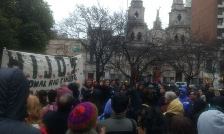 Se realizó una marcha para exigir aparición con vida de Santiago Maldonado