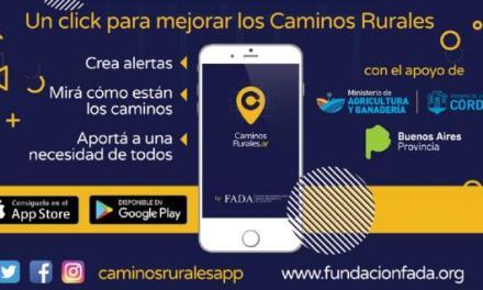 Tecnología aplicada al agro: una app para caminos rurales