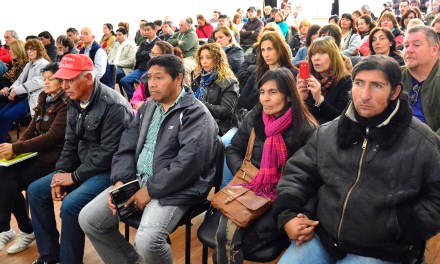 """Con los 100 beneficiarios se realizó el Acto de Apertura del Programa """"Más 45 Volver a trabajar"""""""