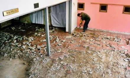 Comenzaron las obras de refacción en la Biblioteca Popular Mariano Moreno