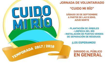 """Jornada de Voluntariado """"Cuido Mi Río""""."""