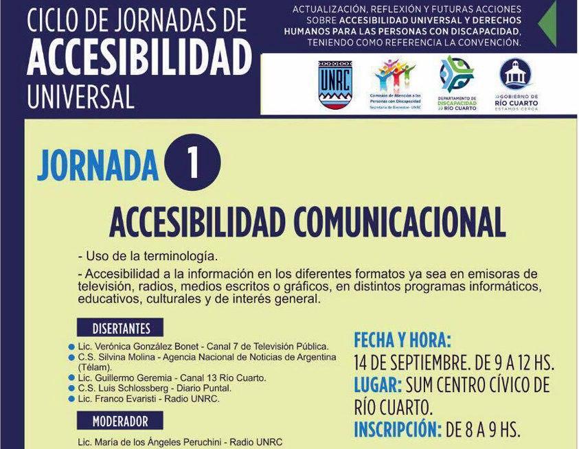 Comienza el Ciclo de Jornadas de Accesibilidad Universal ...