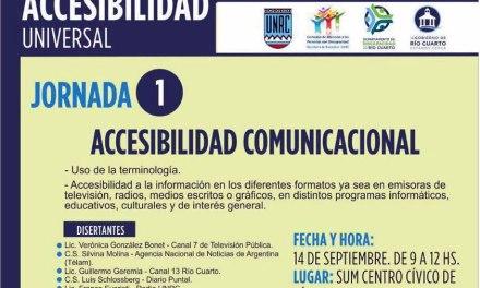 Comienza el Ciclo de Jornadas de Accesibilidad Universal