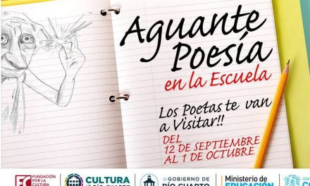 """Cultura: el """"Aguante Poesía"""" va a la escuela"""