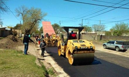 Avanzan las obras de infraestructura vial en Banda Norte