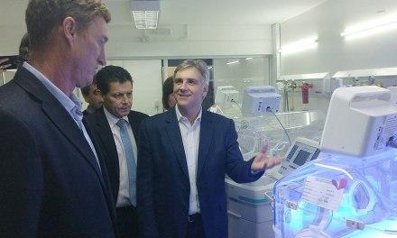 Inauguró la UTI NEO del Hospital Iturraspe de San Francisco