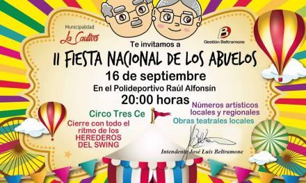 Se realizará la II Fiesta Nacional de los Abuelos