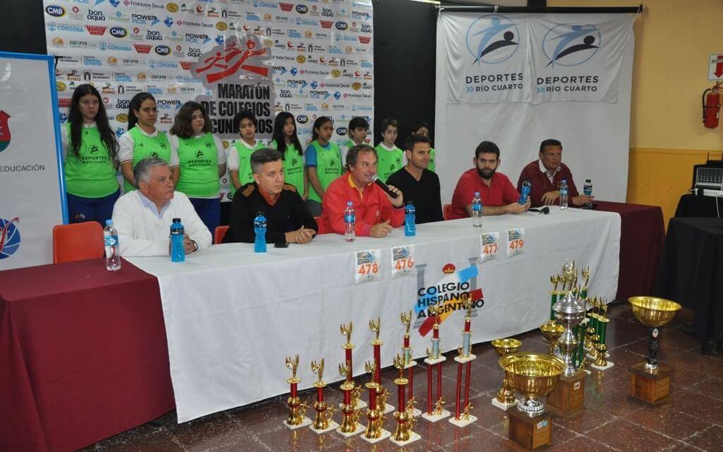 Se presentó la 8° Maratón de Colegios Secundarios en Río Cuarto