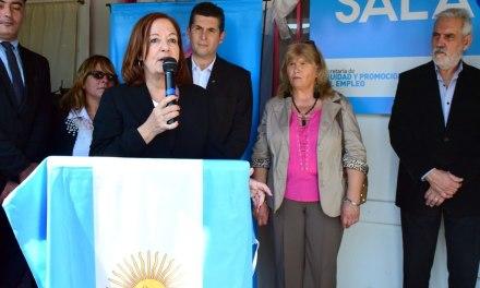 Se inauguró una nueva Sala Cuna en Sampacho