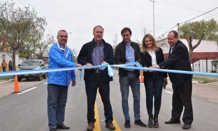 Se inauguró el nuevo acceso a Serrano